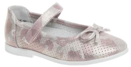 Туфли детские Сказка, цв. розовый р.25