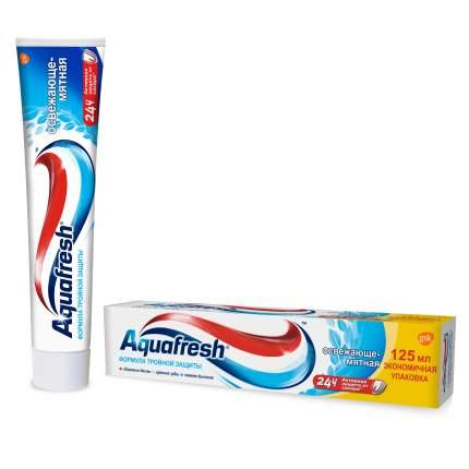 Зубная паста Aquafresh Тройная защита Освежающе-мятная, 125 мл