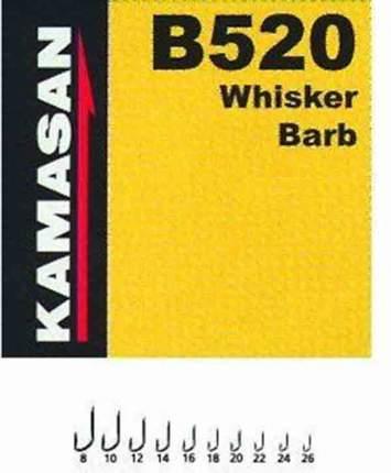 Рыболовные крючки Kamasan В 520 №20, 10 шт.