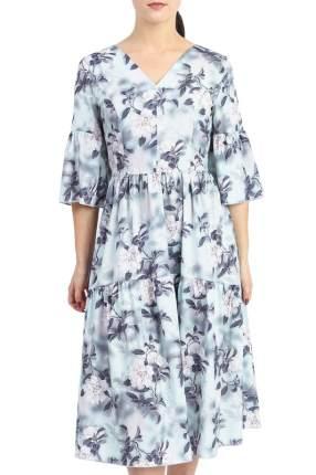 Платье женское LACY S42417(4689) серое 48 RU