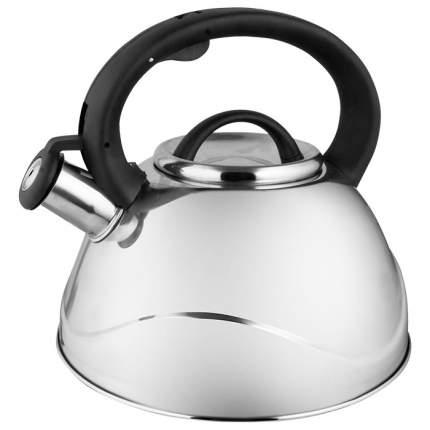Чайник для плиты WEBBER BE-0524 из нерж.стали 3л, капсулированное дно (12)