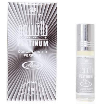 Масло парфюмерное Al Rehab Platinum, 6 мл