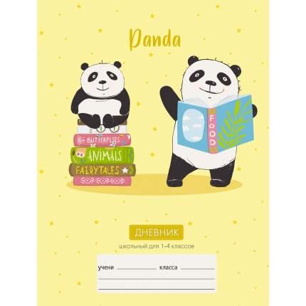Дневник Unnika Land Озорная панда (А5 48л 1-4 класс)