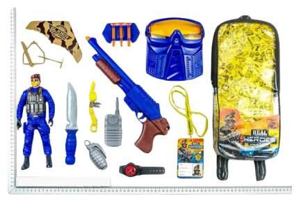 Игровой Набор Junfa Toys Военный Wg-A7080 В Рюкзачке 12 Предметов