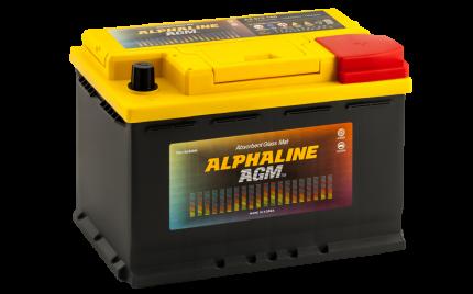 Аккумулятор ALPHALINE AGM 70R