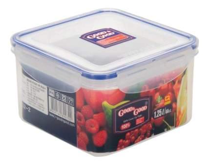 Пластиковый контейнер для продуктов с зажимом 1,25 л