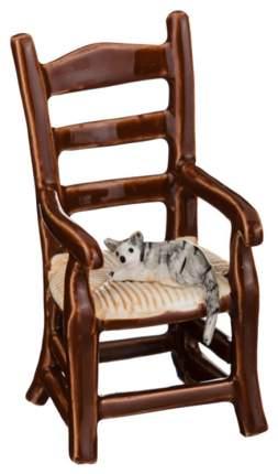 Статуэтка Lefard Кошки на стуле 101-474 Коричневый