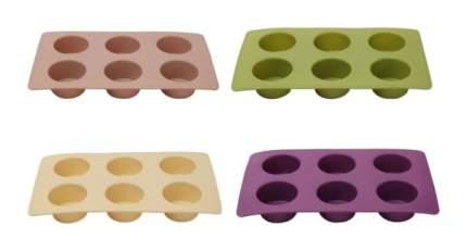 Форма для выпечки Bergner BG-01151 Бежевый, коричневый, зеленый, фиолетовый