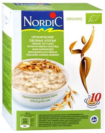 Хлопья Nordic овсяные органические 600 г