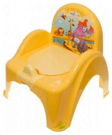Горшок-кресло Tega Baby Сафари Желтый