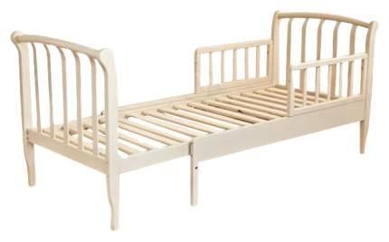 Кровать детская Красная Звезда Арсений С 822 с бортиком Слоновая кость