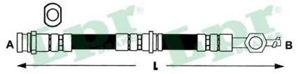 Шланг тормозной системы Lpr 6T48097