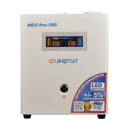 Источник бесперебойного питания Энергия ИБП Pro 500 12В