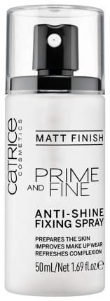 Фиксатор макияжа CATRICE Prime And Fine Anti-Shine Fixing Spray 50 мл
