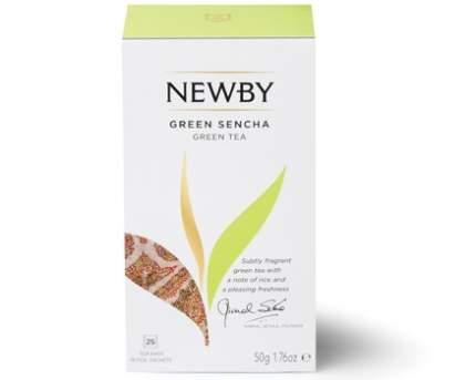 Чай зеленый Newby сенча 25 пакетиков