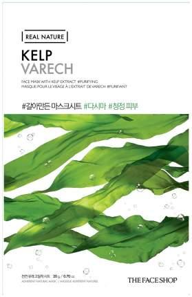 Маска для лица The Face Shop Real Nature Kelp Face Mask 20 г