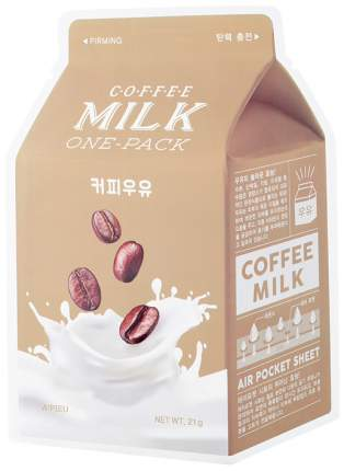 Маска для лица A'Pieu Coffee Milk One-Pack 21 г