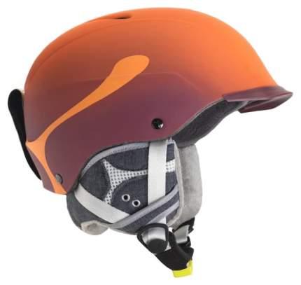 Горнолыжный шлем мужской Cebe Contest Visor Pro 2019, оранжевый, S/M