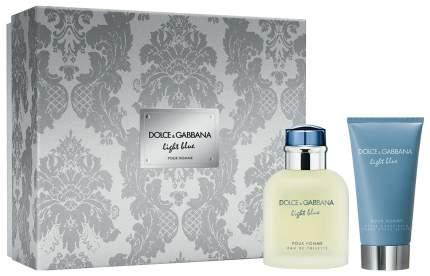 Парфюмерный набор Dolce&Gabbana Light Blue Pour Homme Set Limited Edition 75 мл + 75 мл