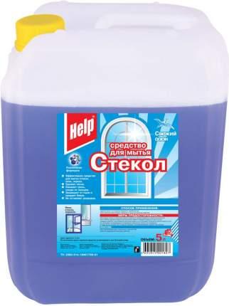 Средство для мытья стекол Help свежий озон 5 л