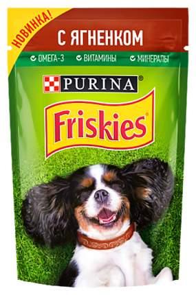 Влажный корм для собак Friskies С ягненком 85 г