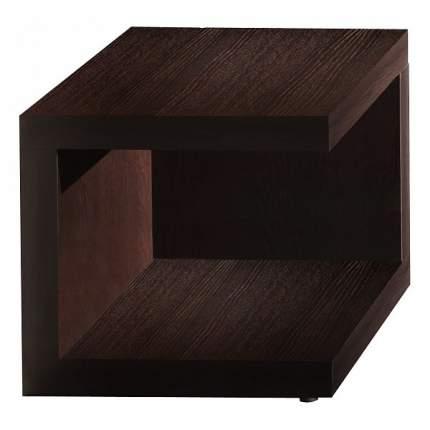 Тумба прикроватная приставная Глазов мебель Хайпер 1 GLZ_56020 44x44x43 см, венге