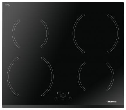Встраиваемая варочная панель индукционная Hansa BHI68318 Black