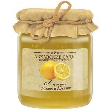 Джем Абхазские сады лимон 300 г