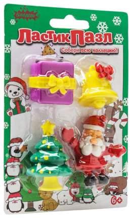 Набор Bumbaram ластики-пазлы «Дед мороз»