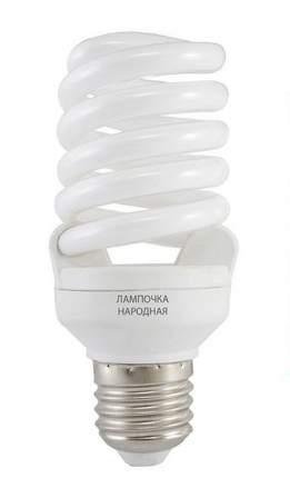 Лампа энергосберегающая Tdm Sp E27 20W 6500 107X53(T2) Fs Народная Sq0347-0012