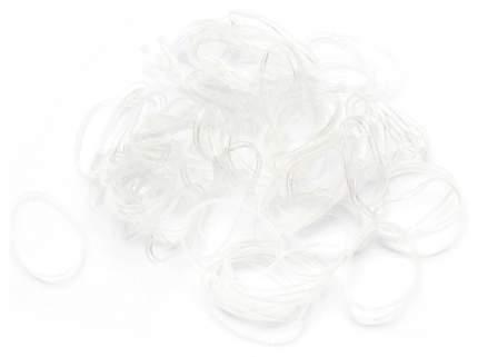 Набор резинок для волос Гурмандиз Прозрачный 100 шт