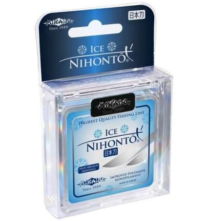 Леска монофильная Mikado Nihonto Ice 0,08 мм, 50 м, 1,25 кг
