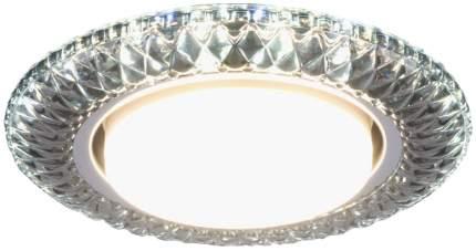 Встраиваемый светильник Elektrostandard 3020 GX53 SB дымчатый