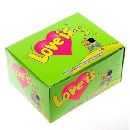 Жевательная резинка Love is яблоко-лимон 4.2 г 100 шт