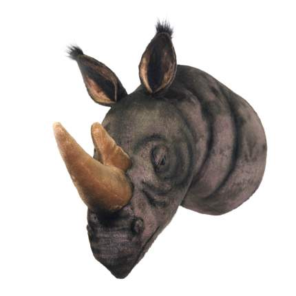 Декоративная игрушка Голова носорога 55 см