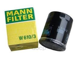 Фильтр масляный двигателя MANN-FILTER W6103