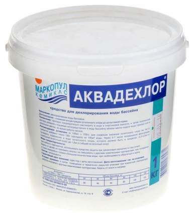 Гранулы для дехлорирования воды Маркопул Кемиклс Аквадехлор 1 кг (ведро) М02