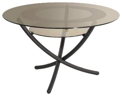 Журнальный стол Мебелик 50х85х85 см, коричневый