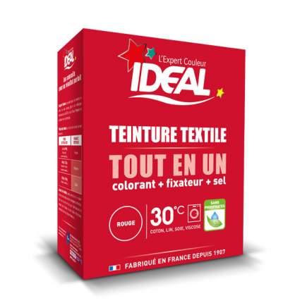 Краска для одежды и тканей Ideal MINI Все в Одном красная, 230 г