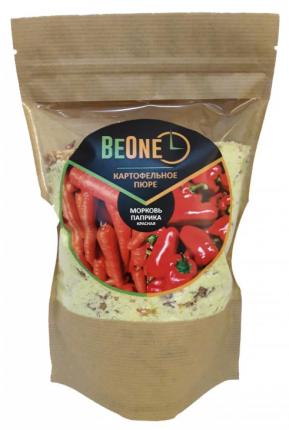 Пюре картофельное BeOne с паприкой красной и морковью 370 г