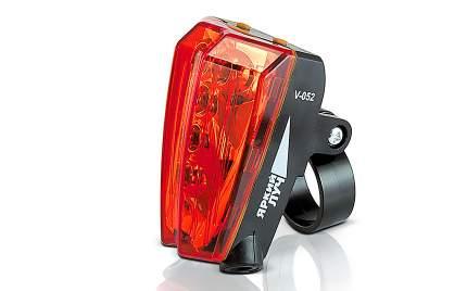 Велосипедный фонарь задний Яркий луч V-052 черный