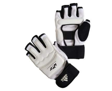 Перчатки для тхэквондо Adidas WTF Fighter Gloves белые S