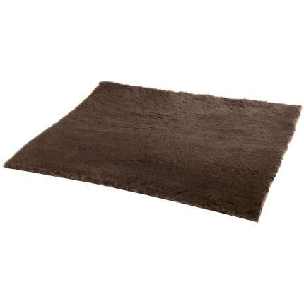 Коврик для кошек и собак Ferplast Plaza мех, коричневый, 75x50 см