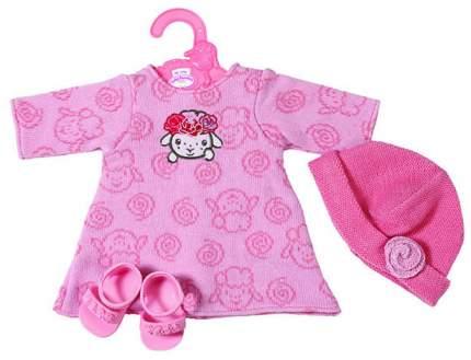 Набор одежды для кукол Zapf Creation Платье, шапочка и босоножки 701-843