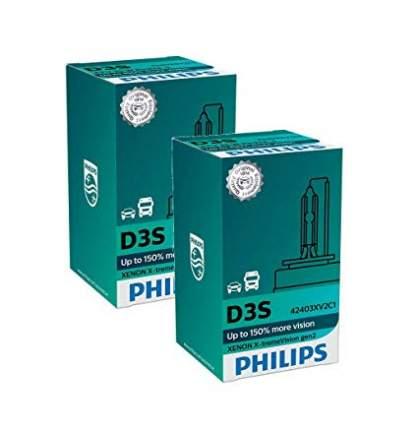 Лампа ксеноновая D3S Philips X-treme Vision Gen2 (+150%) - 42403XV2