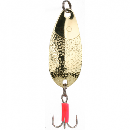 Блесна колеблющаяся Mikado Squat №1 6 г, 4,6 см, золото