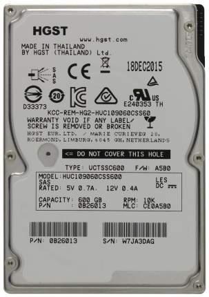 Внутренний жесткий диск HGST Ultrastar C10K900 600GB (HUC109060CSS600)