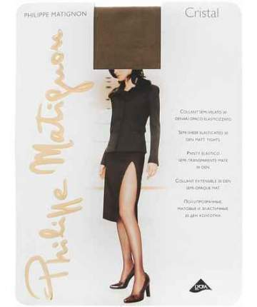 Колготки Philippe Matignon CRISTAL 30 / Noce (Темный загар) / 5 (XL)