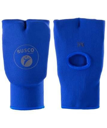 Накладки на кисть Rusco Sport, хлопок, синий (M)