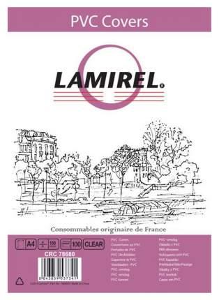 Обложка Fellowes Lamirel CRC-78680 A4 Transparent 100 шт.